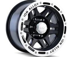 Ion Wheels 133 Series - Black - Machined lip