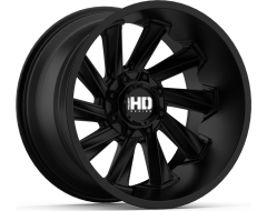 Fast Wheels Twisted - Satin Black