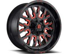 Fuel Off-Road Wheels D612 STROKE - Gloss Black - Tinted clear