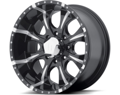 Helo Wheels HE791 MAXX - Gloss Black Milled