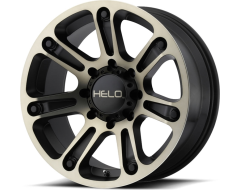 Helo Wheels HE904 - Satin Black - Machined Dark Tint