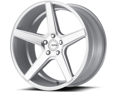 KMC KM685 DISTRICT Series Wheels - Silver machined