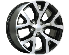 ART Wheels Replica 105 - Gloss Black with Machined Face