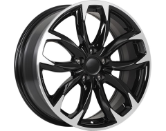 ART Wheels Replica 148 - Gloss Black with Machined Face