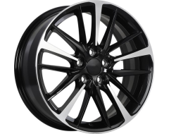 ART Wheels Replica 155 - Gloss Black with Machined Face