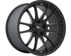 720Form Wheels GTF2 - Matte Black with Machined U-Beam Spokes