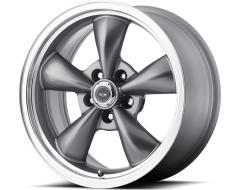 American Racing Wheels AR105 TORQ THRUST M - Anthracite - Machined lip