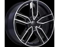 ART Replica 177 - Gloss Black with Machined Face wheels