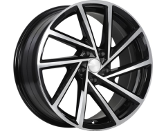 ART Wheels Replica 153 - Gloss Black with Machined Face