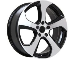 ART Wheels Replica 39 - Gloss Black with Machined Face