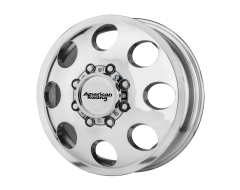American Racing Wheels AR204 BAJA DUALLY - Polished - Front