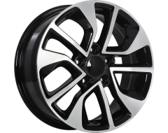 ART Wheels Replica 138 - Gloss Black with Machined Face