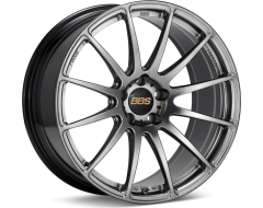 BBS FS Series Wheels - Diamond black paint, clear protective top coat.