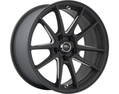 720Form Wheels GTF1 - Matte Black with Machined U-Beam Spokes
