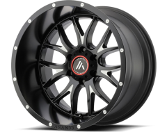 Asanti Wheels AB807 CARBINE - Satin Black - Milled