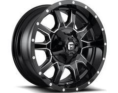 Fuel Off-Road Wheels D627 VANDAL - Gloss Black Milled
