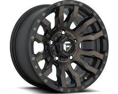 Fuel Off-Road Wheels D674 BLITZ - Matte Black - Double Dark tint