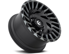 Fuel Off-Road Wheels D683 CYCLONE - Matte - Machined Double Dark tint