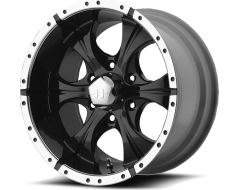 Helo Wheels HE791 MAXX - Gloss Black - Machined