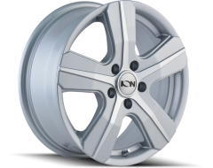 Ion Wheels 101 Series - Silver - Machined Face