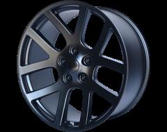 OE Creations Wheels PR107 - Semi Gloss Black