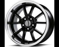 OE Creations Wheels PR118 - Gloss Black - Machined lip