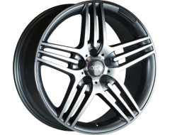 Ceco Series 146 Series Wheels - Gunmetal machined