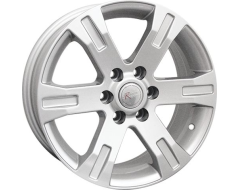 Ceco Series BK398 Series Wheels - Silver