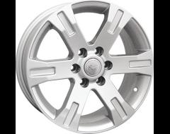 Ceco Series BK398 Series Wheels - Silver