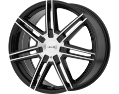 Helo Wheels HE884 - Gloss Black - Machined Face