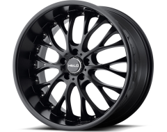 Helo Wheels HE890 - Satin - Black