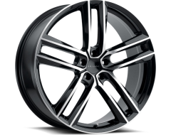 Milanni Clutch Wheels - Gloss Black Machined Face
