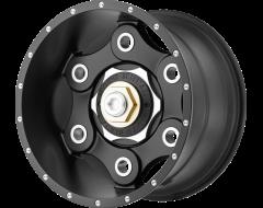 Moto Metal MO977 LINK Series Wheels - Satin black