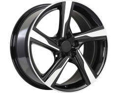 ART Wheels Replica 106 - Gloss Black with Machined Face