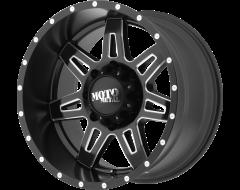 Moto Metal MO975 Series Wheels - Satin black milled