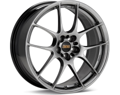 BBS RF Series Wheels - Diamond black paint, clear protective top coat.