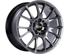 BBS REV Series Wheels - Diamond black paint, clear protective top coat.