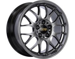 BBS RGR Series Wheels - Diamond black paint, clear protective top coat.