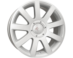 Ceco Series 245 Series Wheels - Silver machined