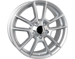 Ceco Series BK193 Series Wheels - Silver