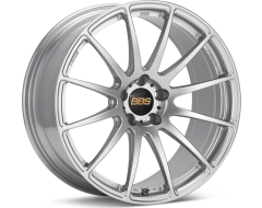 BBS FS Series Wheels - Diamond silver paint, clear protective top coat.