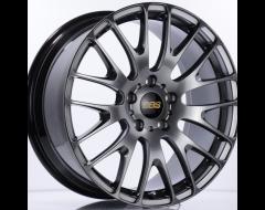 BBS RN Series Wheels - Diamond black paint, clear protective top coat.