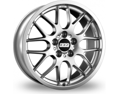 BBS RX Series Wheels - Diamond silver paint, clear protective top coat.