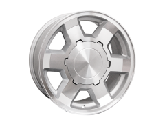 Ceco Series BK494 Series Wheels - Silver