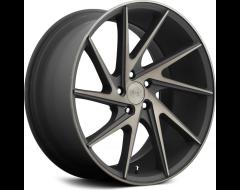 Niche Wheels M163 INVERT - Matte Black - Machined ring
