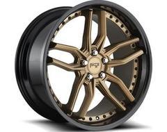 Niche Wheels M195 METHOS - Matte Bronze - Black Bead ring