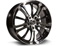RTX Arsenic Wheels - Black - Machined