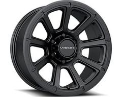 Vision Wheels 353 TURBINE - Matte black