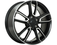 ART Wheels Replica 99 - Gloss Black with Machined Face