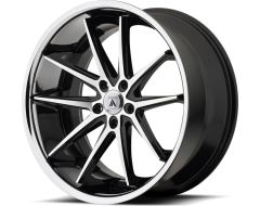 Asanti ABL-5 ALTAIR Series Wheels - Machined face ss lip